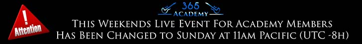 Live Video Chat with Carl For Academy Members Sunday at 11am Pacific Time (UTC-8hr)